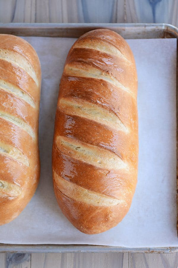 Easy Homemade French Bread Recipe - Cravings Happen