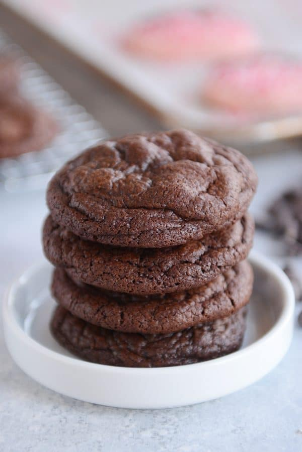 One-Bowl Fudgy Brownie Cookies   Mel\'s Kitchen Cafe - Cravings Happen