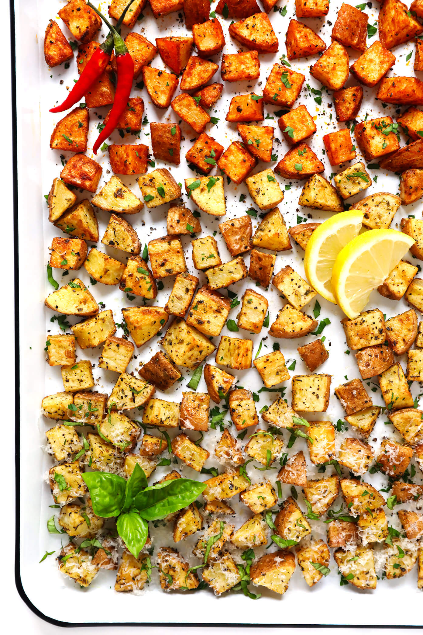 Crispy Roasted Potatoes 3 Ways Gimme Some Oven